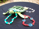 Sea Turtle with Jewelry #7